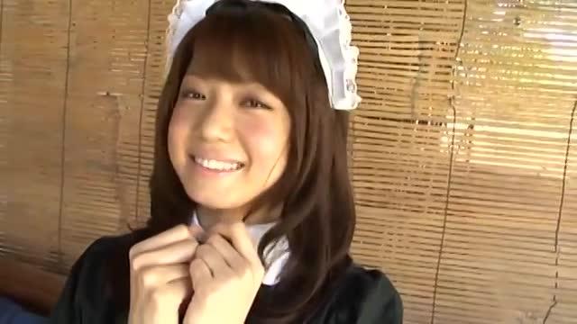 【ロリ系】ロングヘア、童顔巨乳で可愛いお姉さんのイメージビデオです